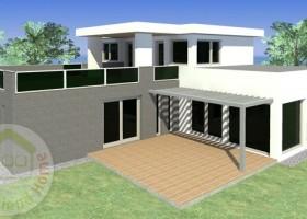 GIGI családiház típusterv (230 m2)4