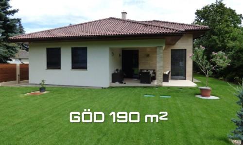 Göd 190 m2 típusterv árajánlat